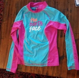 Girl's North Face Swim Top
